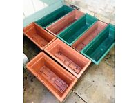 x8 Bundle of Trough Planters