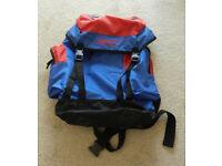lightweight Navy/Red Rucksack Backpack