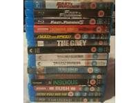 15x BLU Ray movies