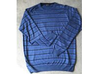 Mens James Pringle Crew Jumper, Large