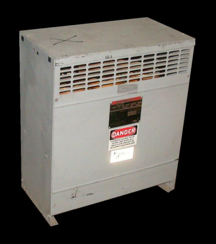 Federal Pacific Reliance  FH27CEMD  3-Phase Dry Type Transformer 27 KVA