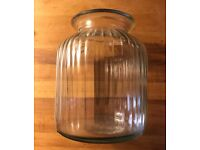 Vintage Style Large Glass Jar