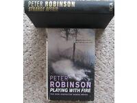 Peter Robinson hardback books