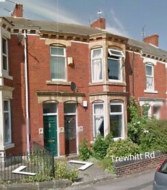 Double Bedroom in Heaton flat share £300 pcm *all bills included*
