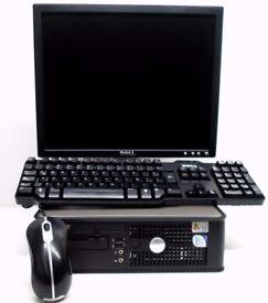 Dell OptiPlex 755 PC (Intel Core 2 2.53GHz Processor , 4GB Ram, 160GB HDD) with Monitor,Keyboard etc
