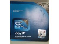 Intel Desktop DQ57TM Executive Series Micro ATX motherboard boxed and new