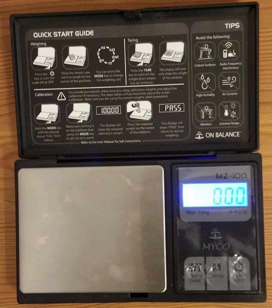 Mini digital weighing scale