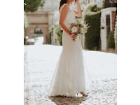 wedding dress - Lusan Mandongussize 8 - worn for 2hours