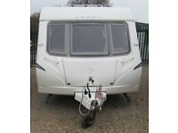 ABBEY GTS 418 2009 *FIXED BED* 4 BERTH CARAVAN