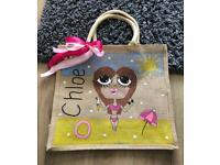 Personalised Jute bags & school book bags