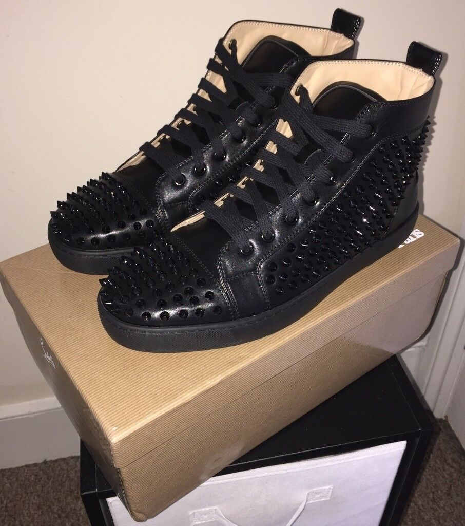 timeless design 1ae84 1ef02 Christian Louboutin Shoes Black With Spikes | in Witton, West Midlands |  Gumtree