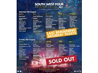 SW4 Sunday the 26th (all sold out)