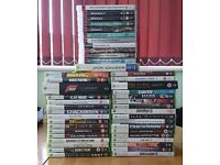 GAME COLLECTION. 45 GAMES across both the Xbox 360 & PS3 systems.