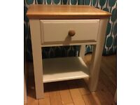 Small table / occasionable table / bedside table with draw