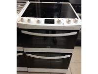 ***NEW Zanussi 60cm wide electric ceramic cooker for SALE with 1 year guarantee ***