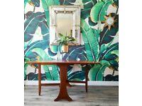 Excellent Vintage Condition G Plan Teak Mid Century Modern Drop Leaf Gate leg dining table
