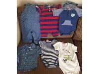 6-12 Months Pumpkin Patch Boys Summer Clothes