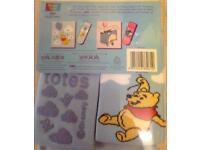 NEW totes Winnie the Pooh Nightshirt & Slipper Sox Set