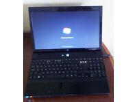 "HP Probook 4510S 15.6"" screen, Intel dual core laptop."