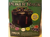 Duluxe Revolving Poker Set