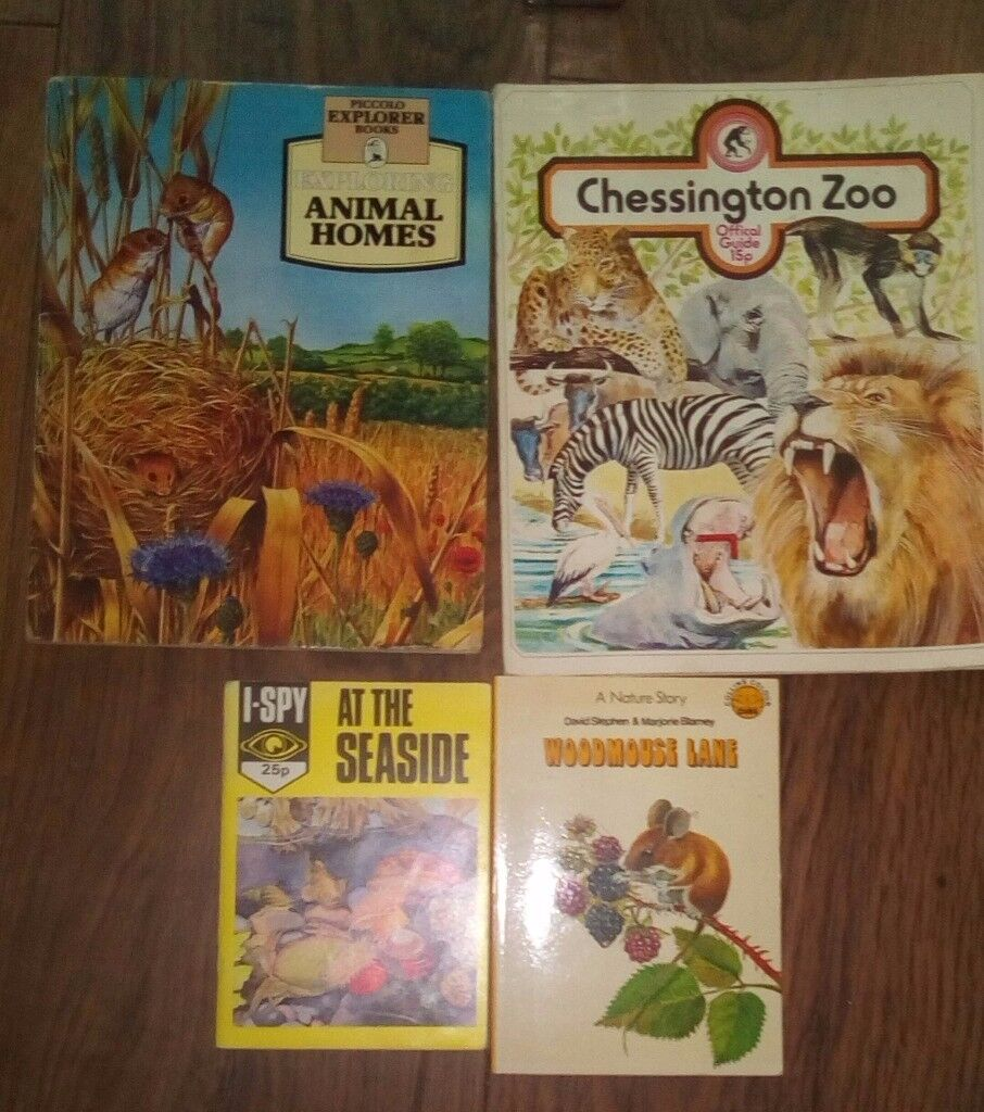 4 different types of animal books