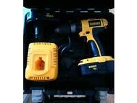 Dewalt Cordless Drill, 2 x Battery, 18v