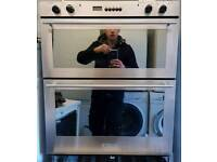 Electric integrated double oven delivered and installed