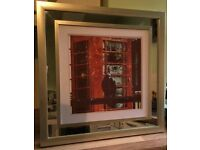 original photos printed and framed 21 inches squared