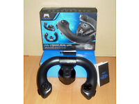 Gioteck FR1 Wireless Racing Wheel Pad PS3 Playstation 3