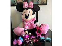 Large (75cm) Minnie Mouse plush toy & figurines