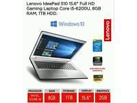 Lenovo Ideapad 510 i5 Nvidia 940mx 2gb 8 GB RAM 1TB HDD