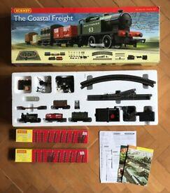Hornby Coastal Freight train set with extra tracks