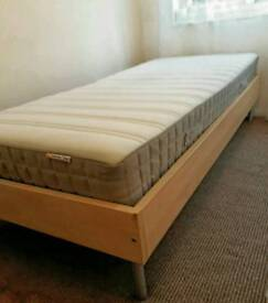 Single Bed and Sprung mattress