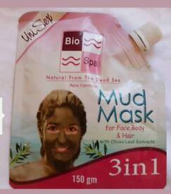 Bio Spa Dead sea Mud Mask for face and body and hair/3 in 1.