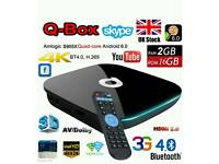 Q ANDROID TV BOX. 16GB AUTO UPDATES