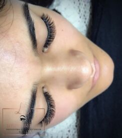 Eyelash extension & lash lift ( Classic 1 D lashes and Russian volume 2-3-4-5-6D )