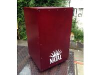 Cajon by Natal adjustable snare