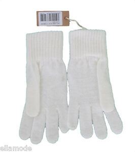 Diesel-Womens-Cream-Soft-Knitted-Mohair-Mix-One-Size-Gloves-RRP-25-Free-Ship