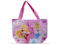Disney Princess Kids Large Shopping Shoulder Tote Bag