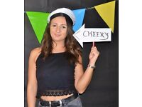 Photo booth style photography