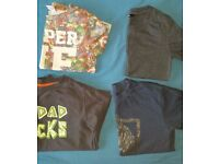 Bundle of T-shirts boy 4-5