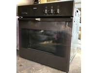 Bosch HMG8202 / HBE630F built in oven and matching microwave grill brown