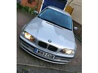BMW 313I 2.5L GOOD CONDITION SILVER MOT FAST RELIABLE