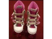 Pink Roller Skates size 12J