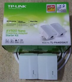 TP Link powerline.