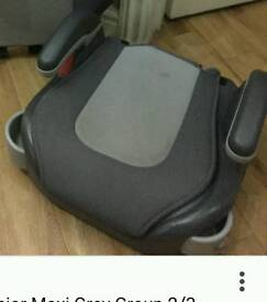 Graco grey booster seat- no back