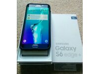 Excellent condition Black Samsung Galaxy s6 edge plus