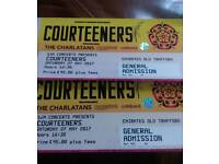 SOLD - Courteeners charlatans blossoms cabbage tickets
