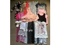 Girl's clothes bundle size 8-9 years