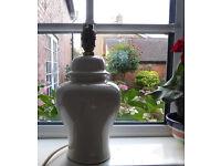 Table lamp base, cream £4